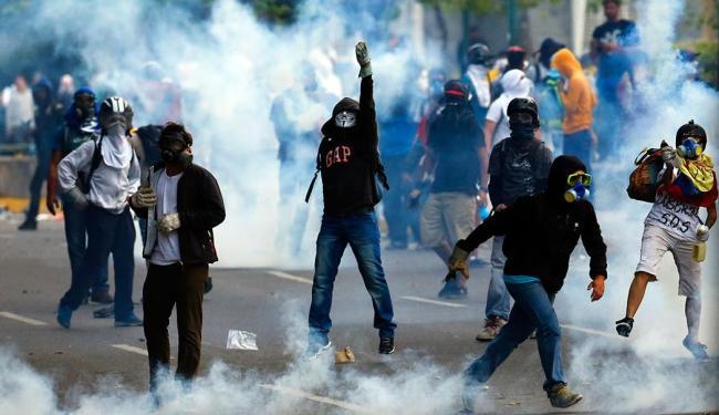 Jovem foi atingido no peito e morreu durante os protestos - Foto: Agência Reuters