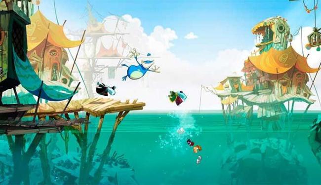 Rayman Legends tem belos gráficos e desafios empolgantes - Foto: Divulgação