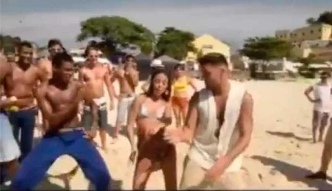 Ricky Martin dançou