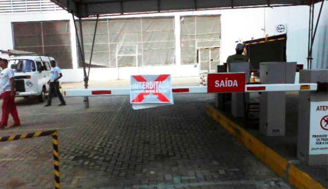 Conforme Sucom, empresa cobrava por vagas do estacionamento do clube sem ter alvará - Foto: Divulgação   Sucom