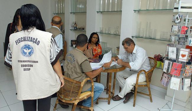 Dos 303 estabelecimentos vistoriados, 12 receberam notificações do Codecon - Foto: Divulgação   Codecon