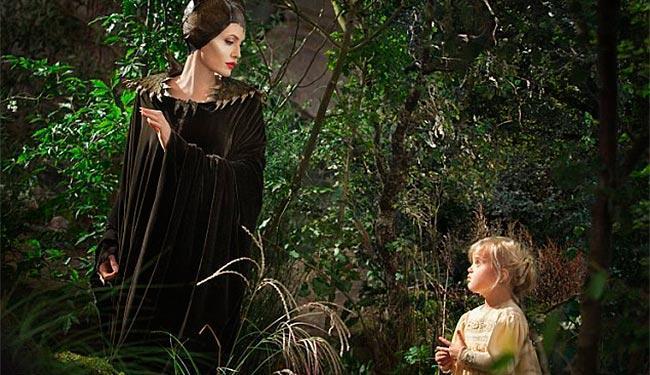 Primeiro encontro de Vivienne e Jolie no filme acontece em uma floresta escura e cheia de mistérios - Foto: Divulgação