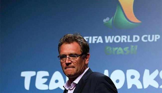 O secretário-geral da Fifa pede agilidade ao Brasil - Foto: Sergio Moraes l Reuters