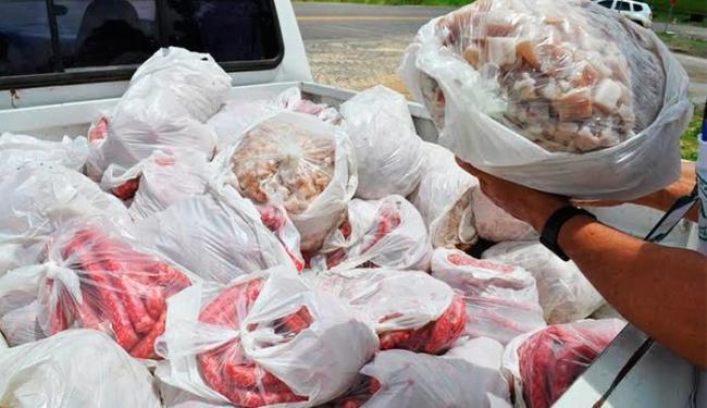 Linguiça e o toucinho eram transportados sem selo de certificação sanitária - Foto: Foto | Itamaraju Noticias