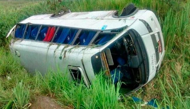 Passageiros viajavam para realizar consultas em um hospital de Salvador - Foto: Esplanada News | Reprodução