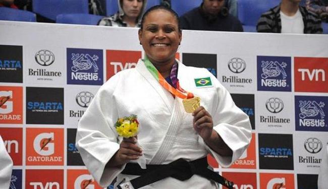 Claudirene Cezar foi a primeira a garantir o lugar no topo do pódio - Foto: Divulgação l CBJ