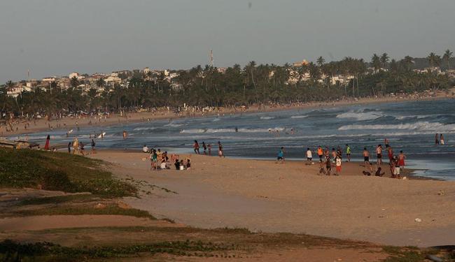 Rio Vermelho, Armação e Boca do Rio estão entre as praias impróprias - Foto: Mila Cordeiro | Ag. A TARDE