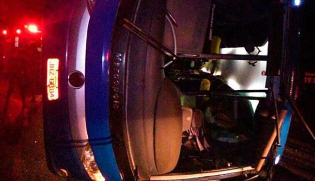 Acidente aconteceu por volta das 22h de sexta - Foto: Reprodução | Facebook