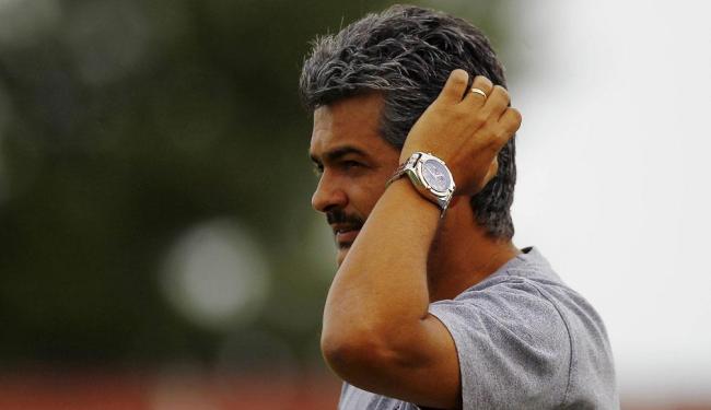 Treinador do Vitória, Ney Franco não gostou da atuação da equipe - Foto: Eduardo Martins   Ag. A TARDE