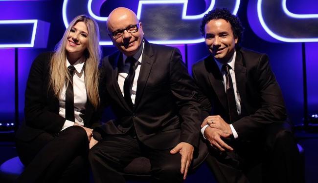 Dani Calabresa, Marcelo Tas e Marco Luque formam a nova bancada da atração - Foto: Carol Gherardi | Band
