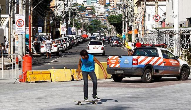 A partir de terça, o acesso em veículos será restrito a moradores cadastrados - Foto: Fernando Vivas | Ag. A TARDE