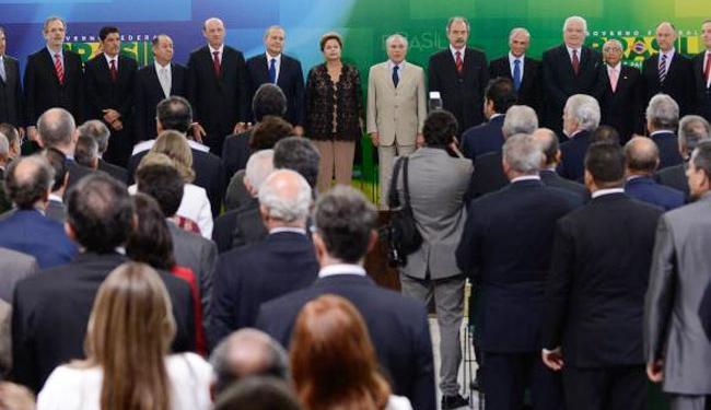 Momento da posse - Foto: Agência Brasil