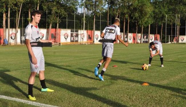 Titulares contra o Juazeirense realizaram somente trabalho físico na academia e no CT - Foto: Esporte Clube Vitória   Divulgação