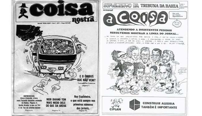 Suplemento fazia parte do jornal Tribuna da Bahia entre 1975 e 1977 - Foto: Acervo Gutembreg Cruz