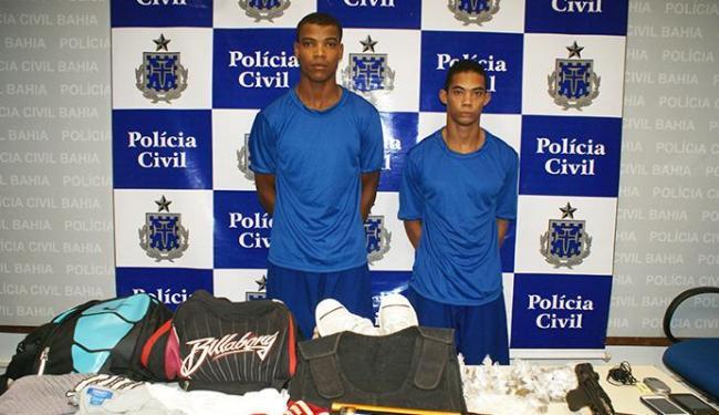 Elimar e Joabe foram capturados no sábado, 15 - Foto: Divulgação | Polícia Civil