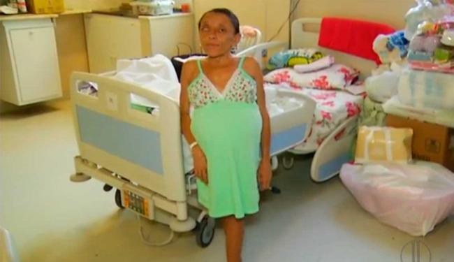 Maria Dulcineia está no sexto mês de gestação - Foto: Reprodução | Inter TV Cabugi