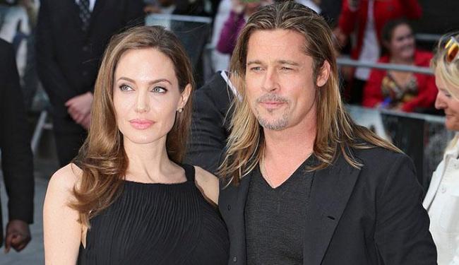 Angelina Jolie e Brad Pitt poderão participar da próxima novela das 19h da Globo - Foto: Agência Reuters