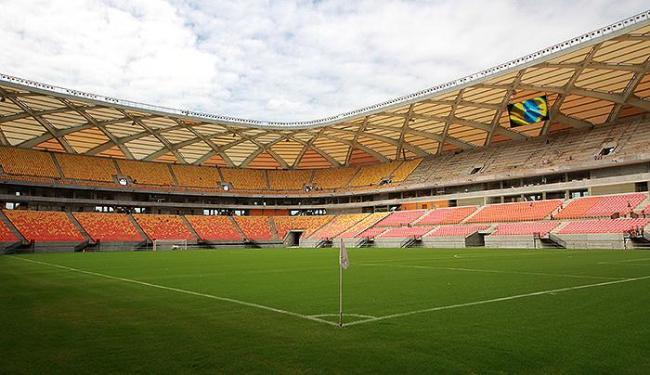 Arena da Amazônia será palco de Resende-Rj e Vasco da Gama no dia 3 de abril - Foto: Divulgação l Ministério do Esporte