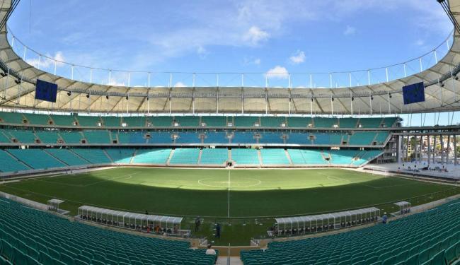 Arena Fonte Nova será o palco das partidas - Foto: Erik Sales | Ag. BAPRESS