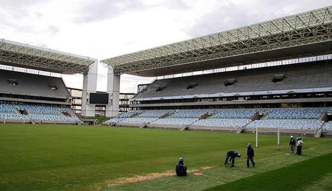 Estádio recebe últimos ajustes para abertura - Foto: Danilo Borges l Portal da Copa