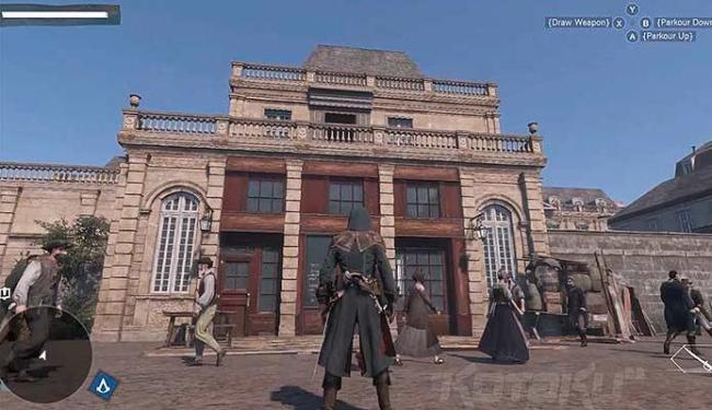 Site japonês Kotaku já tinha exibido imagens que indicava que jogo se passaria em Paris - Foto: Kotacu | Reprodução