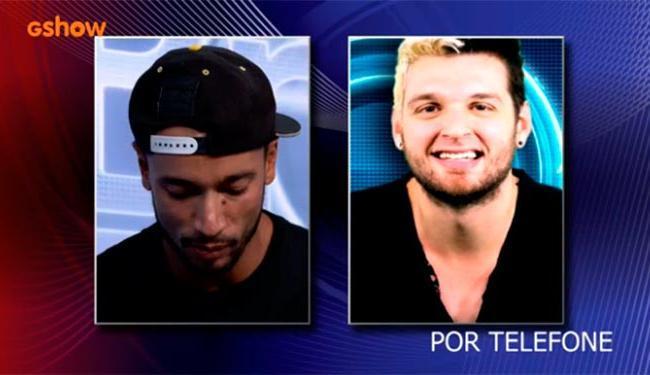 Decepcionado com Angela, Slim torce por Vanessa - Foto: TV Globo | Divulgação