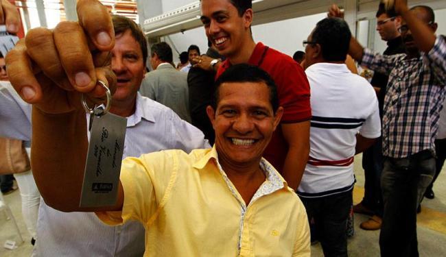 Permissionários da Ceasinha receberam as chaves nesta sexta - Foto: Eduardo Martins | Ag. A TARDE