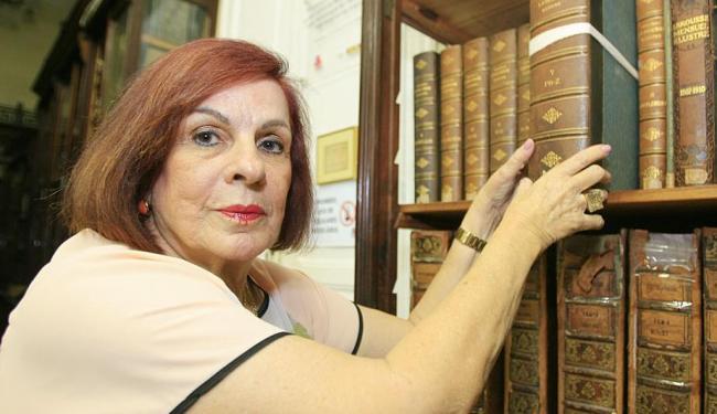 Consuelo Pondé de Sena, historiadora e presidente do Instituto Geográfico e Histórico da Bahia (IGHB - Foto: Joá Souza   Ag. A TARDE