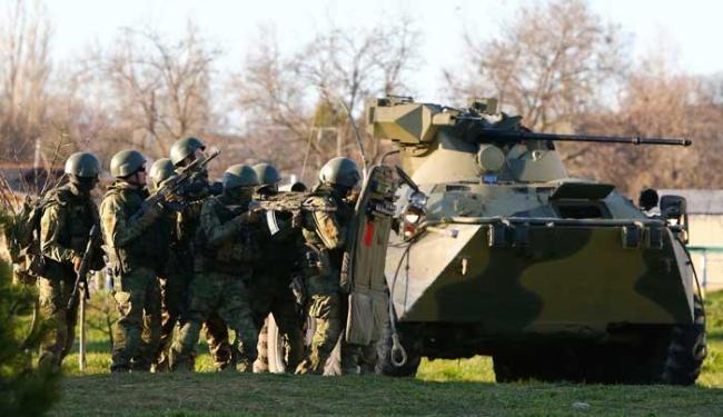 Região agora está efetivamente sob controle de forças russas - Foto: Agência Reuters