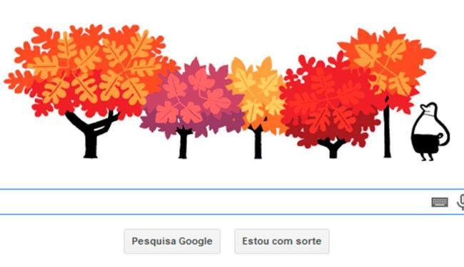 Google lança doodle em homenagem ao primeiro dia do Outono - Foto: Reprodução | Google
