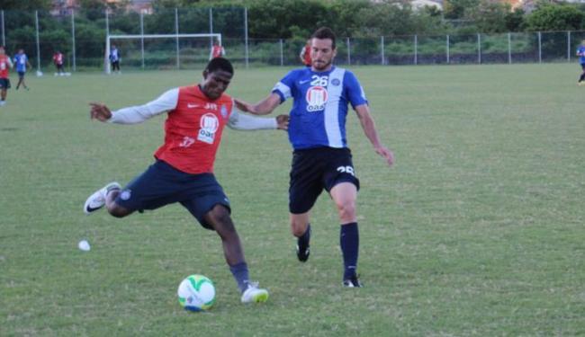Reservas contra o Vitória fizeram coletivo contra time da base tricolor - Foto: Esporte Clube Bahia   Divulgação