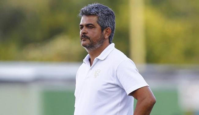 Treinador rubro-negro disse que time pecou nas conclusões e elogiou sistema defensivo - Foto: Eduardo Martins | Ag. A TARDE