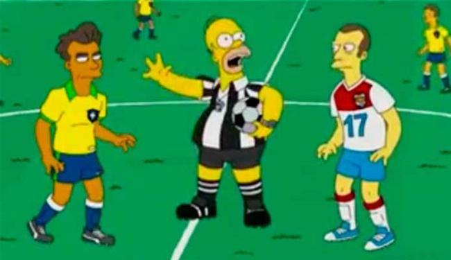 Homer apita jogo entre Brasil e Holanda - Foto: Reprodução