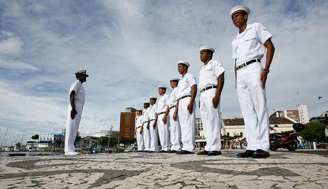 Concurso oferece 2.200 vagas para aprendizes-marinheiros - Foto: Fernando Amorim   Ag. A TARDE