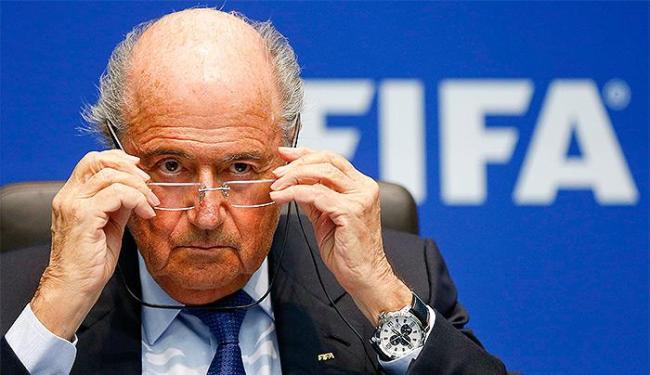 Presidente da Fifa disse que não tem direito de discutir as acusações - Foto: Arnd Wiegmann l Reuters