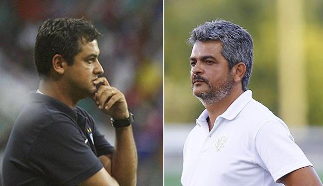 Treinadores têm dúvidas sobre as formações ofensivas para o primeiro jogo da decisão - Foto: Lúcio Távora e Eduardo Martins| Ag. A TARDE