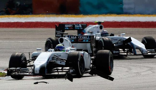 Massa não aceitou ordem da equipe para deixar companheiro Bottas passar - Foto:   Ag. A TARDE