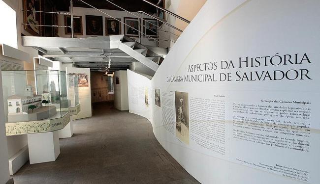 Criado em 1997, o Memorial da Câmara de Salvador foi aberto ao público em 2001 - Foto: Mila Cordeiro | Ag. A TARDE