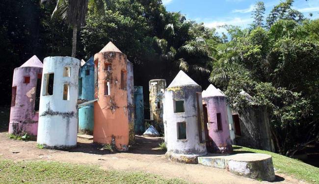 Área de brinquedos do Parque da Cidade apresenta má conservação - Foto: Lúcio Távora   Ag. A TARDE