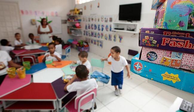 Pesquisa vai divulgar perfil da educação oferecida a crianças de zero a 5 anos e 11 meses de idade - Foto: Mila Cordeiro | Ag. A TARDE