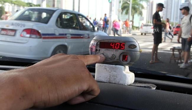 Condutores discutem com a prefeitura melhorias no serviço - Foto: Joá Souza | Ag. A TARDE