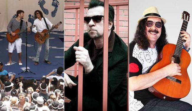 Saulo e Luiz Caldas homenageiam Caymmi, Marcelo Nova toca em Cajazeiras e Moraes na Praça Cayru - Foto: Luciano da Mata   Ag. A TARDE - Divulgação