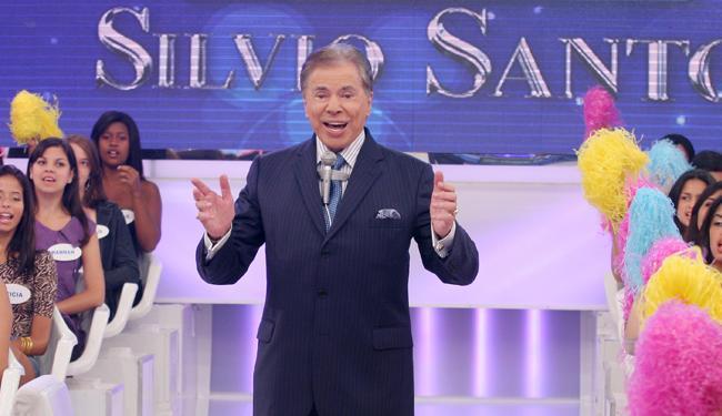 Silvio volta para o estúdio na segunda, 4, para gravar o primeiro programa de 2014 - Foto: Divulgação | SBT