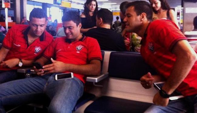 Os atletas que atuaram em Curitiba foram liberados nesta quinta-feira - Foto: Divulgação l E.C. Vitória