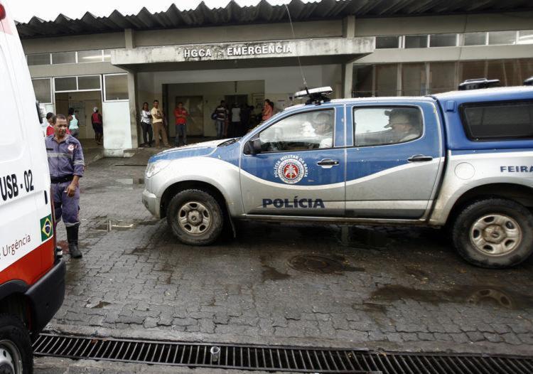 Idosa ficou internada 18 dias no Hospital Geral Cleriston Andrade - Foto: Luiz Tito | Ag. A TARDE