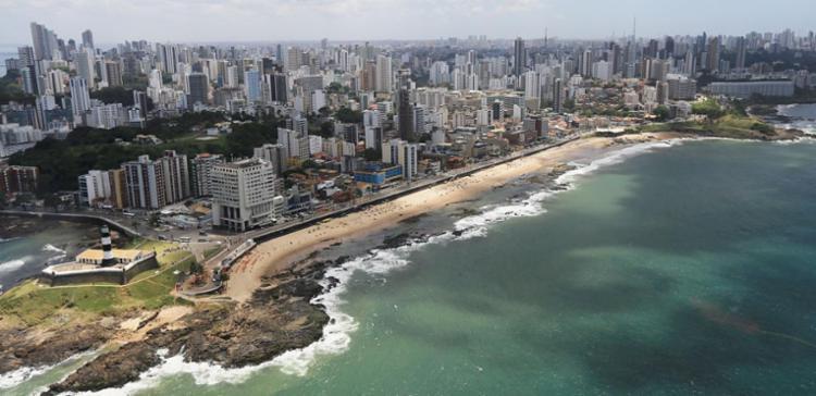 Vista aérea de Salvador - Foto: Carlos Casaes | Ag. A TARDE