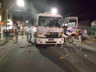 Carro desceu a ladeira de ré e atingiu carro das vítimas - Foto: Reprodução | Jacuípe Notícias
