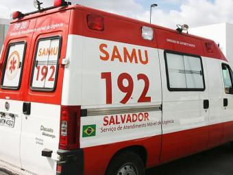 Diariamente, o Samu atende três pessoas baleadas em média - Foto: Arestides Baptista / AG A TARDE