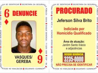Jeferson Silva Brito é procurado por homicídio - Foto: Divulgação | SSP