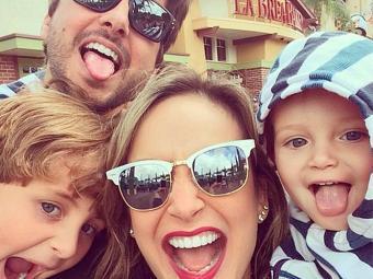 A cantora se diverte em férias com a família - Foto: Reprodução   Instagram